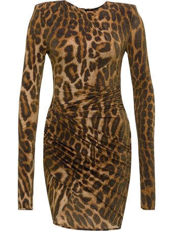 Alexandre Vauthier Animal Pattern Dress