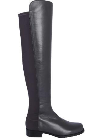 Stuart Weitzman Cuissard 5050 Leather Boots