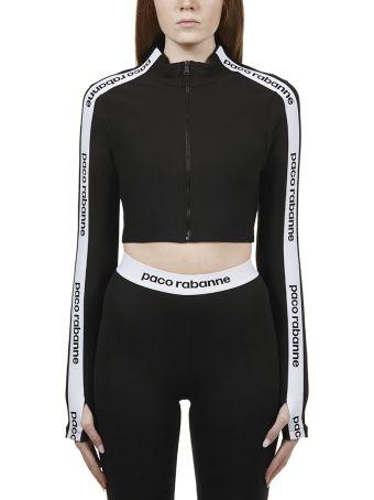 Paco Rabanne Cropped Sweatshirt