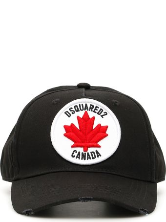 Dsquared2 Baseball Cap With Logo Patch