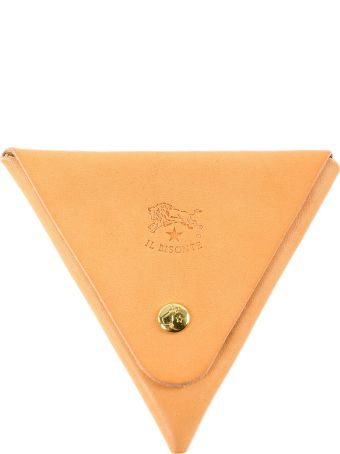 Il Bisonte Triangle Coin Case