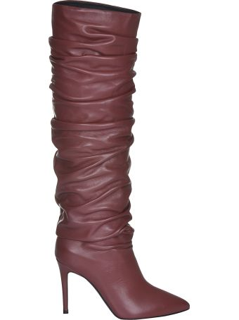 Erika Cavallini Ruched Over The Knee Boots