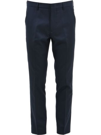 Pence Asciutto Blue Trousers