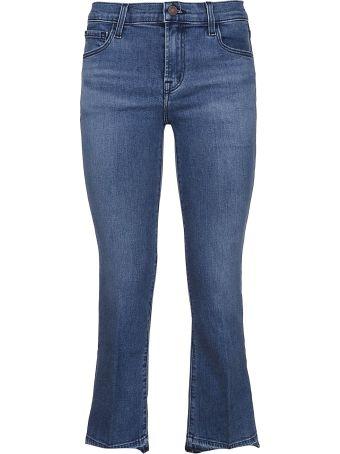 J Brand Jbrand Selena Cropped Jeans
