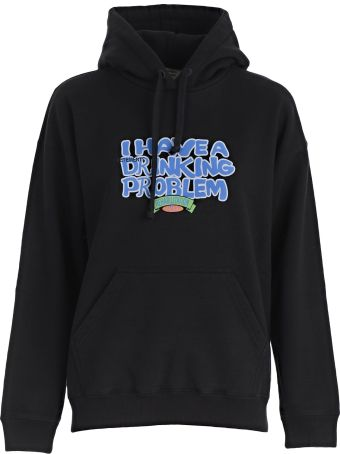 VETEMENTS I Have A Drinking Problem Hoodie