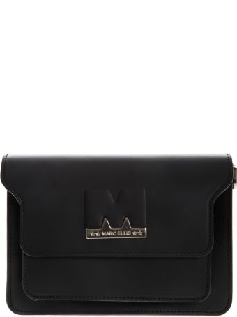 Marc Ellis Black Leather Debra Bag