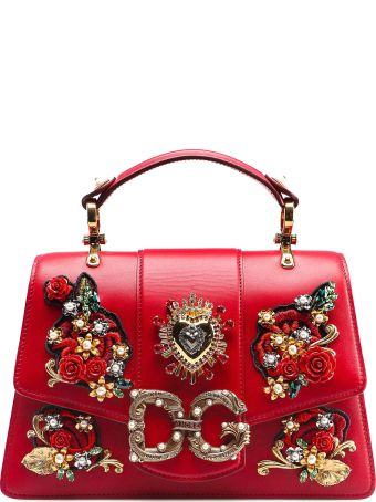 Dolce & Gabbana Calfskin Shoulder Bag