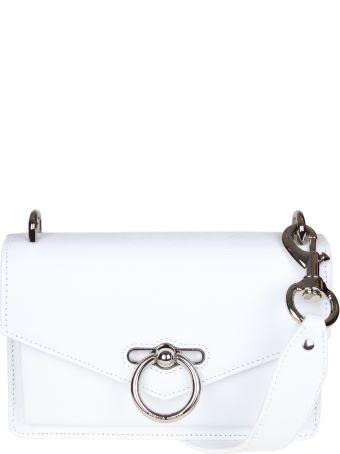 Rebecca Minkoff Jean Leather Shoulder Color White
