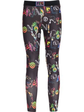Versus Versace Printed Leggings