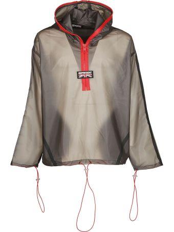 REPRESENT Logo Zipped Jacket