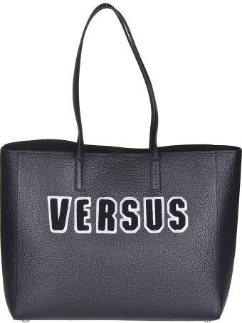 Versus Versace Logo Patch Tote