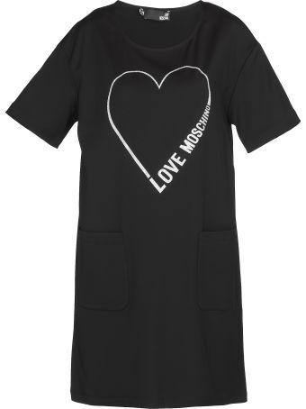 Love Moschino Ribbed Dress
