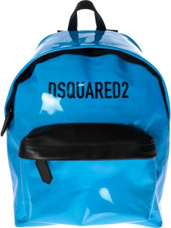 Dsquared2 Patent Leather Backpack