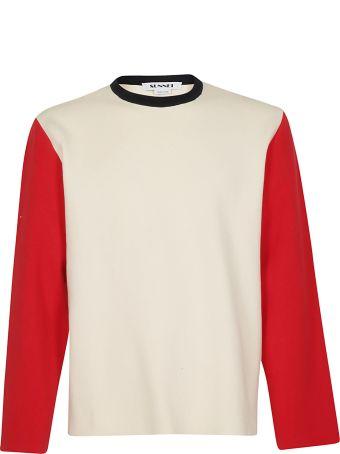 Sunnei Contrast Sweater