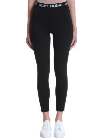 Calvin Klein Jeans Logo Elastic Band Leggings