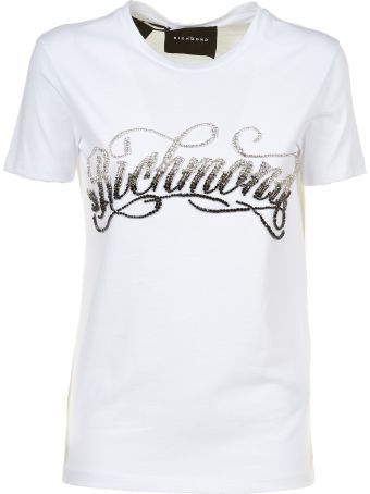 John Richmond Crystal-embellished T-shirt