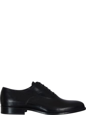 Manuel Ritz In Leather Flat Shoes