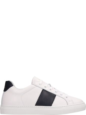 National Standard White Leather Edition 4 Sneakers