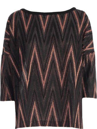 M Missoni Sweater 3/4s A Line Lurex