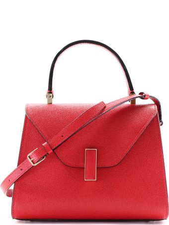 Valextra Iside Mini Bag Red