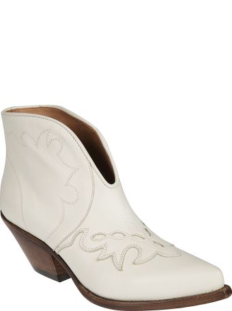 Buttero Stitched Ankle Boots