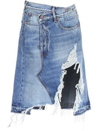 R13 Norbury Denim Skirt