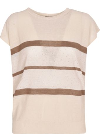 Peserico Striped T-shirt