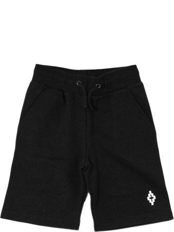 Marcelo Burlon Black Shorts