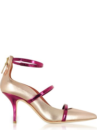Malone Souliers Robyn 70 Metallic Nappa Leather High Heel Pumps