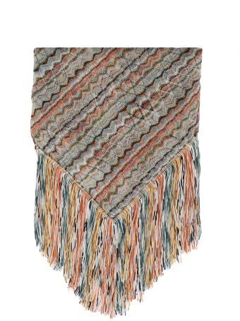 Missoni Knitted Multicolor Shawl