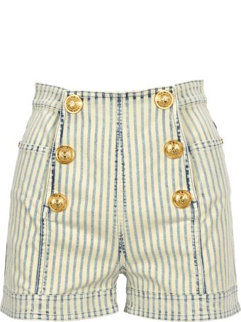 Balmain High Waist Shorts