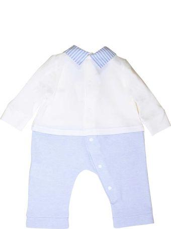 leBebé Newborn Suit White And Blue By Le Bebè Junior