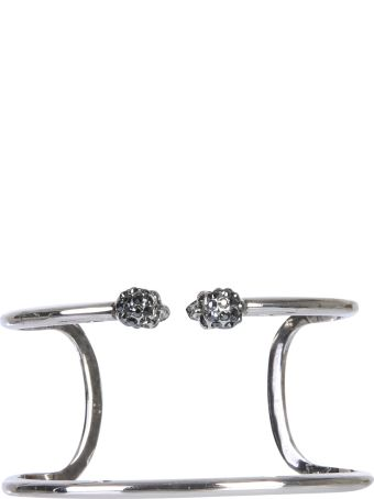 Alexander McQueen Skull Double Tour Bracelet