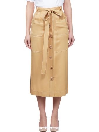 See by Chloé Buttoned Skirt