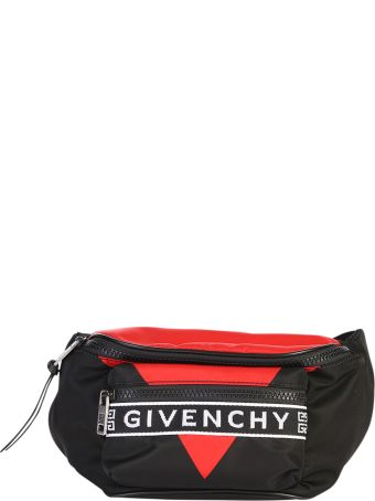 Givenchy Logo Print Nylon Belt Bag