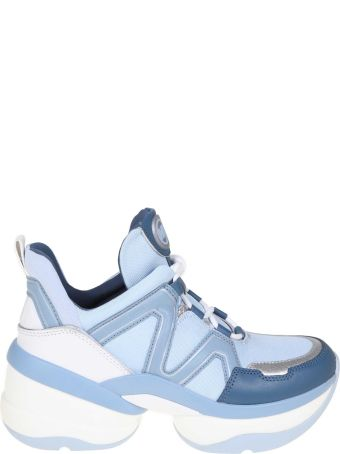 Michael Kors Sneakers Olympia Trainer Blue Color