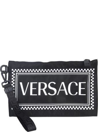 Versace Pouch With Logo