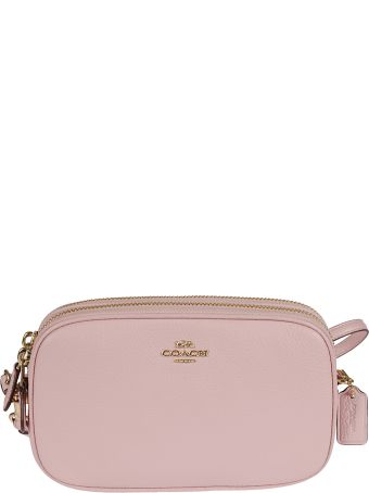 Coach Logo Plaque Crossbody Clutch