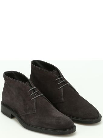 Tod's 45a Suede Desert Boots