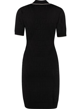 Fendi Knitted Sheath Dress