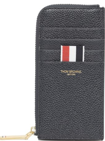 Thom Browne Half Zip Around Wallet