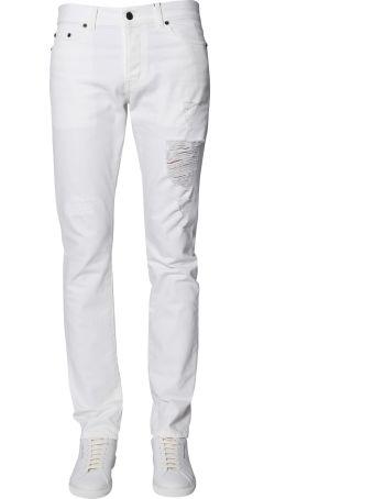 Saint Laurent Low-waist Slim Fit Jeans