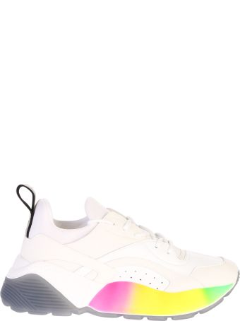 Stella McCartney White Lace Up Sneakers