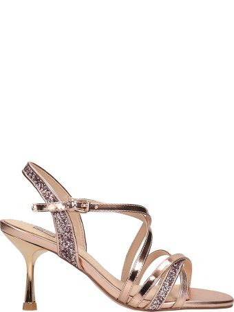 Bibi Lou Copper Leather Sandals