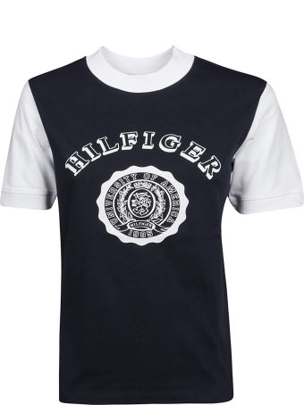 Tommy Hilfiger Contrast Sleeve Logo T-shirt