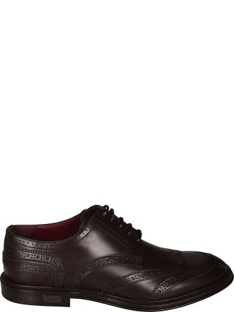 Dolce & Gabbana Perforated Derby Shoes