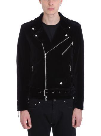 Route des Garden Black Velvet Jacket