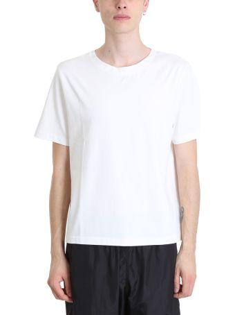 Our Legacy White Cotton T-shirt