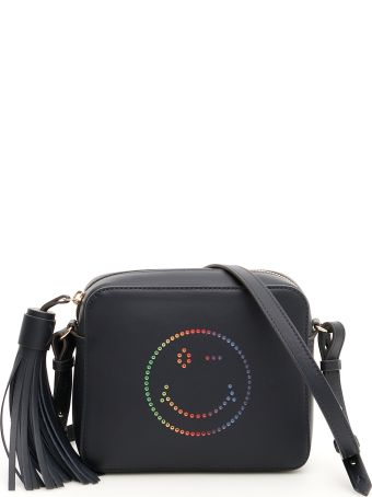 Anya Hindmarch Multicolor Smiley Crossbody Bag