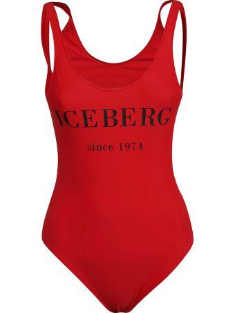 Iceberg Printed Swimsuit